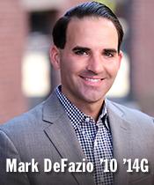 Mark DeFazio '10 '14G
