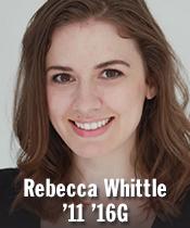 Rebecca Whittle '11 '16G