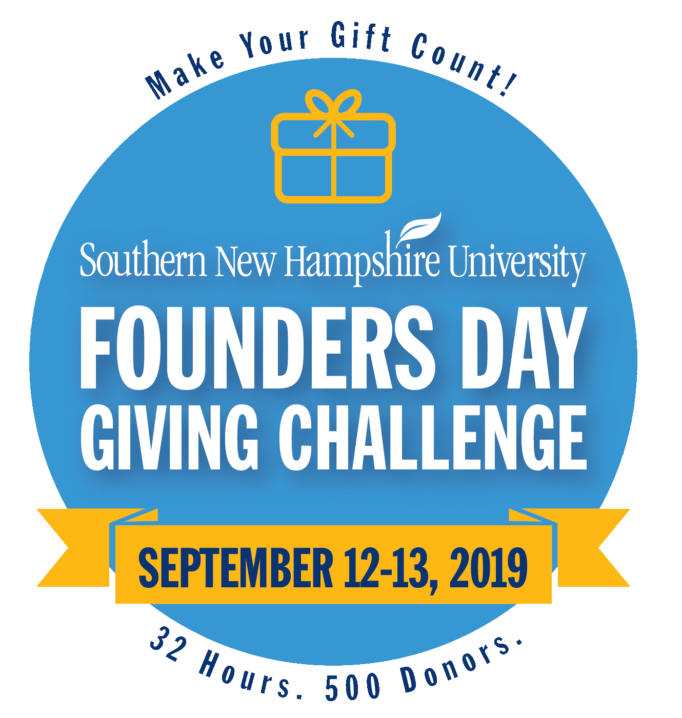 SNHU Founders Day Giving Challenge, September 12-13, 2019