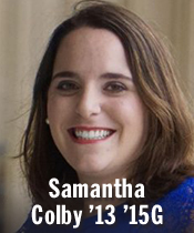 Samantha Colby '13 '15G