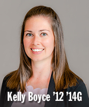 Kelly Boyce '12 '14G