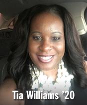 Tia Williams '20