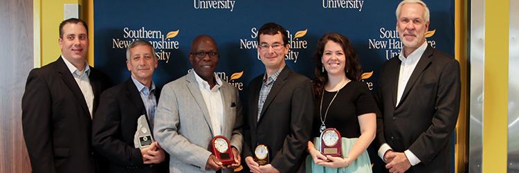 SNHU Alumni Award Recipients 2017