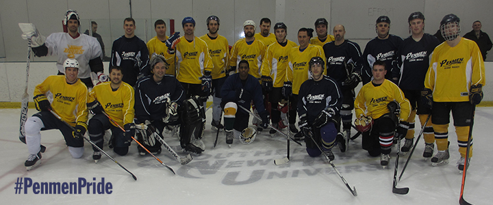 2014 Alumni Hockey Day - team photo