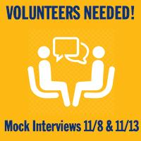 Career Volunteers - Mock Interviews