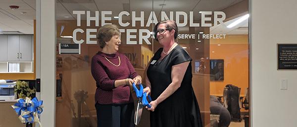 The Chandler Center Dedication