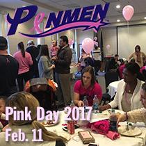 Penmen Pink Day 2017