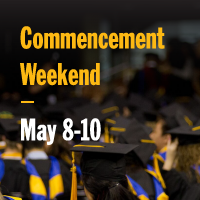 Commencement Weekend | May 8-10, 2020