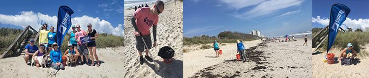 Sandy Paws Beach Cleanup