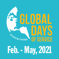 Global Days of Service February through May, 2021