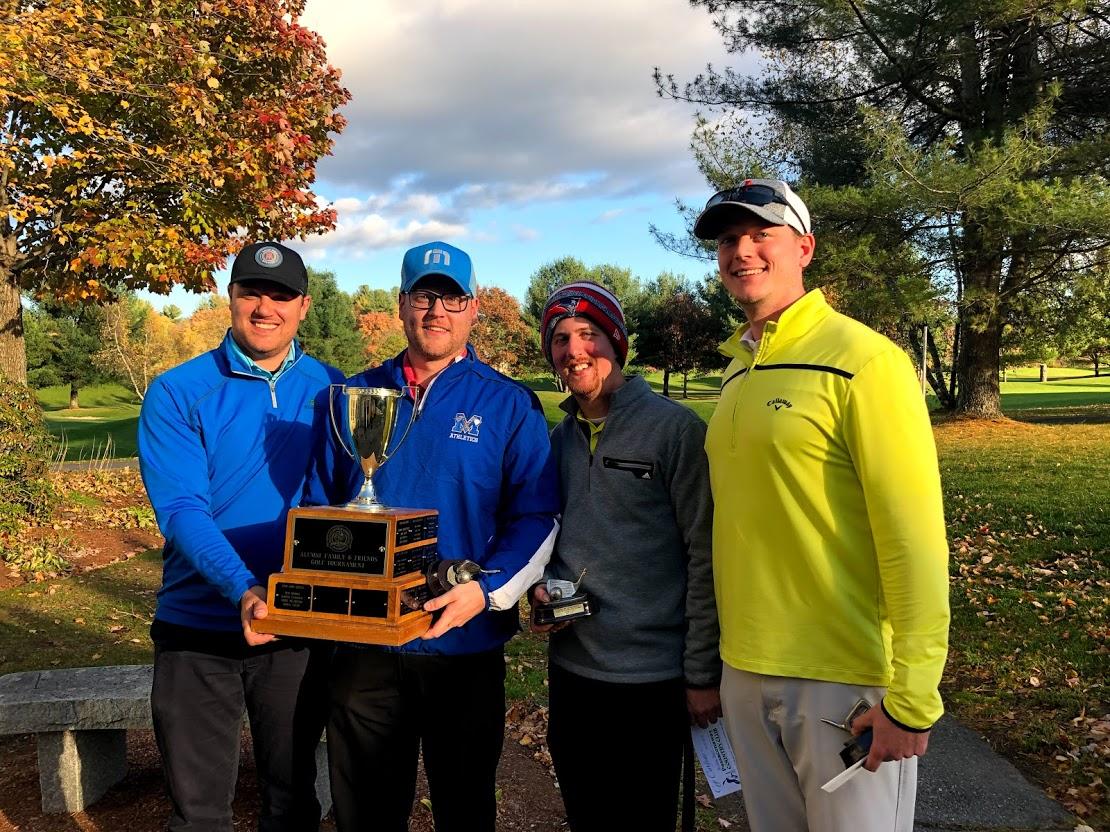 2019 Alumni, Family & Friends Golf Tournament winners