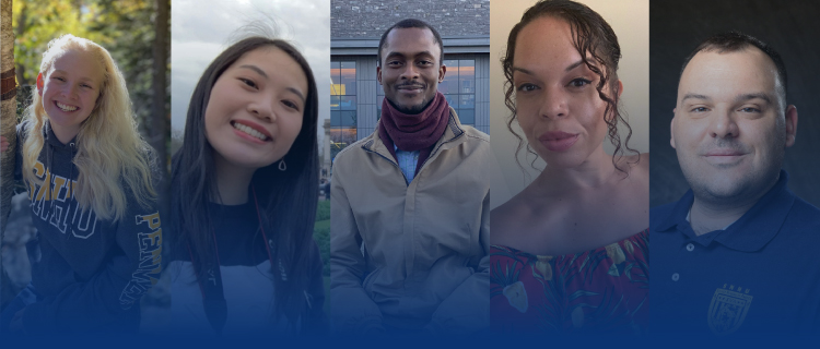 Headshots of SNHU students that have received scholarships