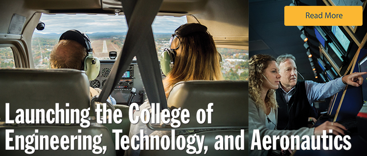 Launching the College of Engineering, Technology, and Aeronautics at SNHU