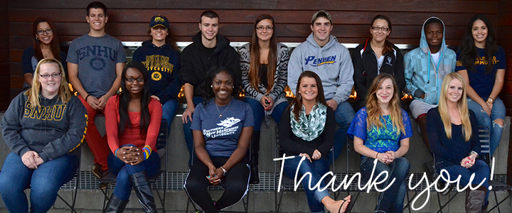 Thank you from SNHU students