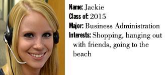 2014-15 Telefund - Jackie