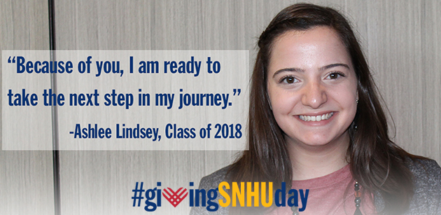 Giving SNHUday 2017