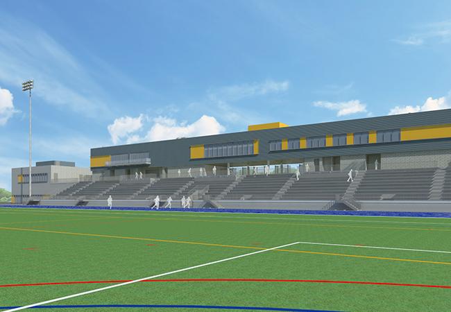 Penmen Stadium Field