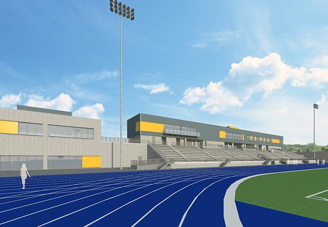 Penmen Stadium Track