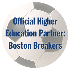 Official Higher Education Partner for the Boston Breakers