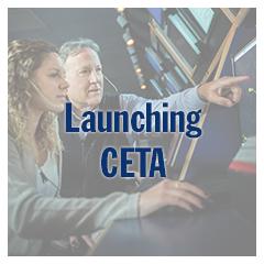 Launching CETA
