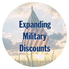 Expanding Military Discounts