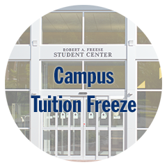 Campus Tuition Freeze