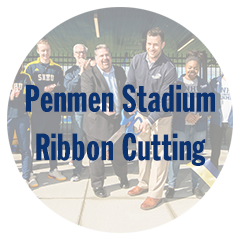 Penmen Stadium Ribbon Cutting